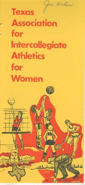 Texas Association for Intercollegiate Athletics for Women Publications