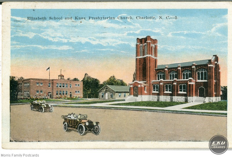 Elizabeth School and Knox Presbyterian Church, Charlotte, N.C.