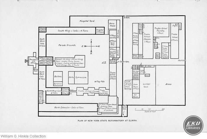 Plan of New York State Reformatory at Elmira