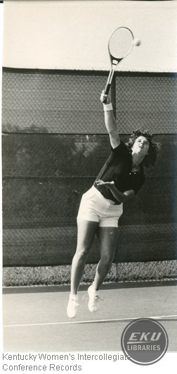Tennis- Unidentified Western Kentucky University Player