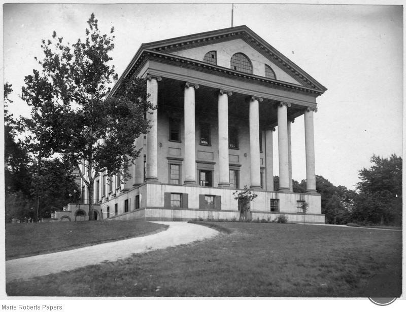 Capitol building in Richmond, VA