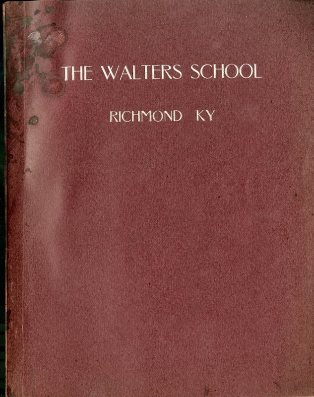 Catalog of the Walters School for Boys
