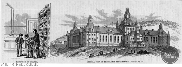 General View of the Elmira Reformatory/Reception of Inmates