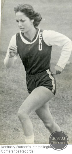 Unidentified Runner from Eastern Kentucky University