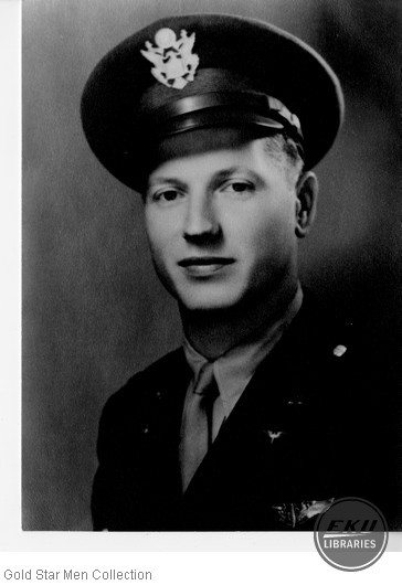 Bert J. Smith in Army Air Forces uniform