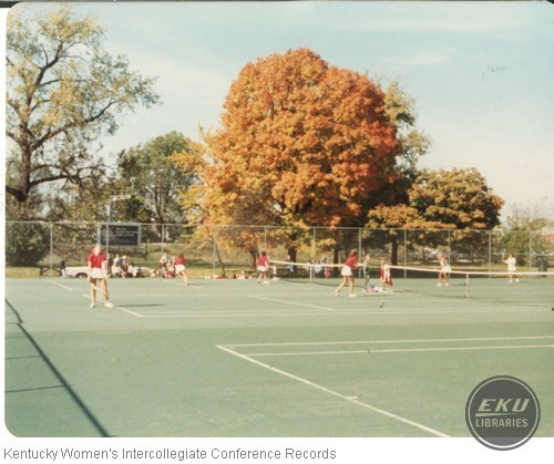 University of Louisville Tennis Doubles
