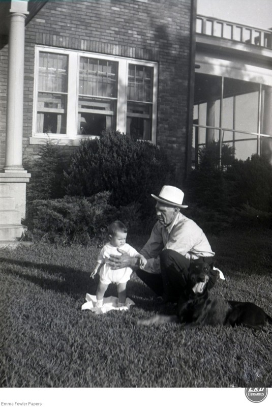 Unidentified Man and Baby
