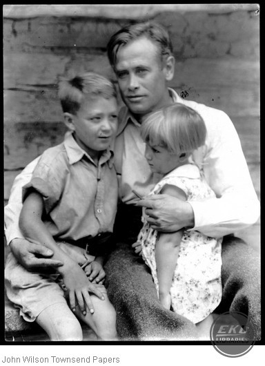 John Jacob Niles with Children