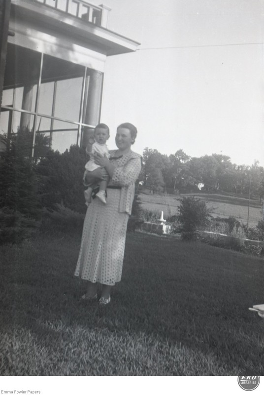 Unidentified Woman Holding a Child