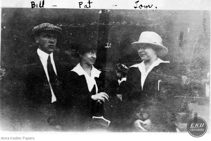 Bill, Pat and Anna Kadlec (right)