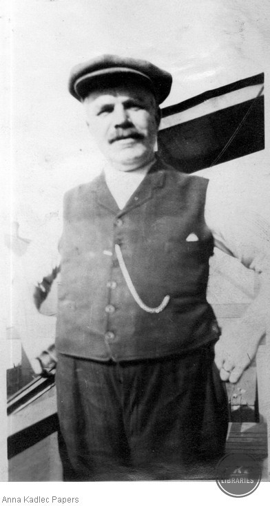 Anna Kadlec's father, Frank Koutecky