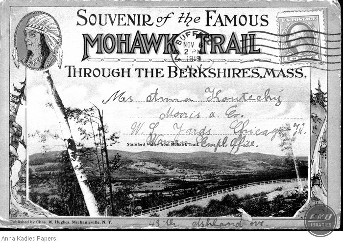 The Famous Mohawk Trail through the Berkshires, MA