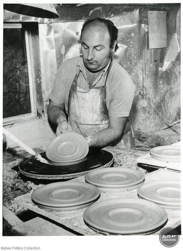Harvey Connor Throwing a Plate