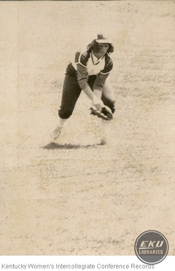 Unidentified Softball Player
