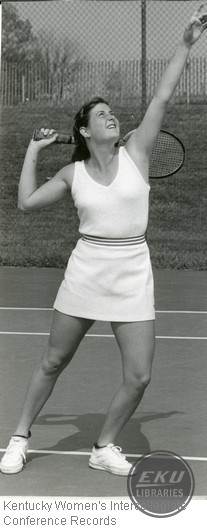 Tennis- Unidentified Centre College Player
