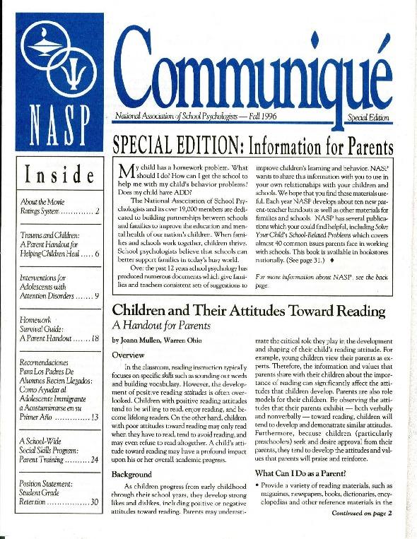 communique-specialfall1996.pdf