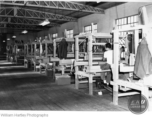 Factory With Workers