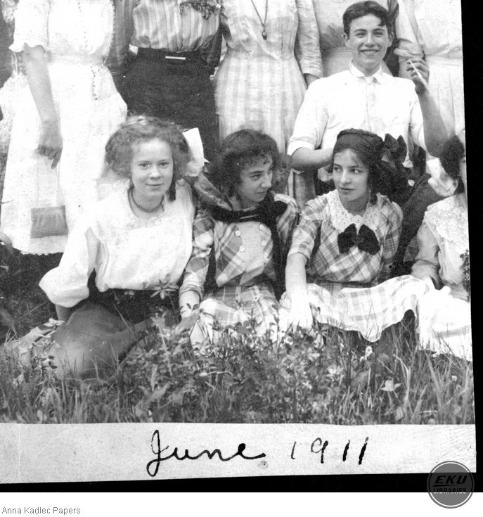 A Group of Unidentified Young Men and Women