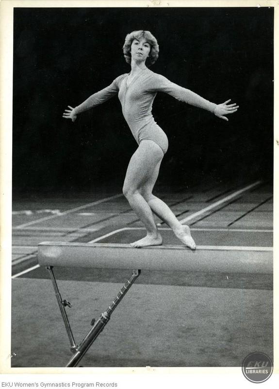 Lisa Wray on Beam