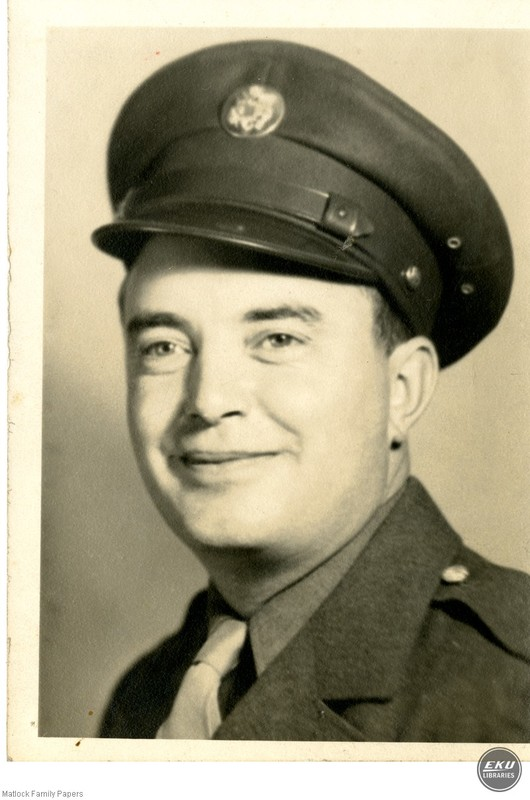 Unidentified Man in a Military Uniform