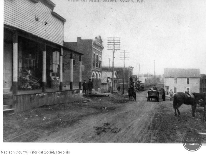 Main Street in Waco