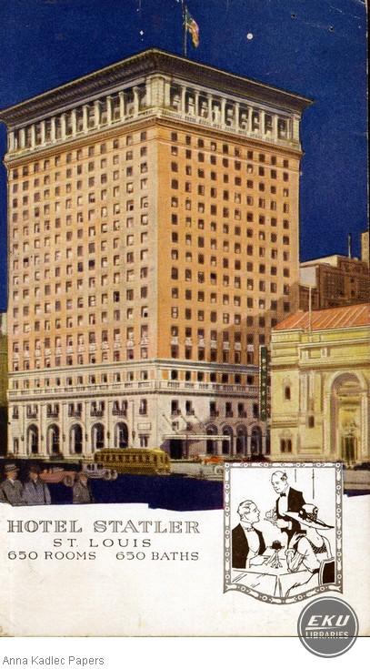 Hotel Statler in St. Louis, MO
