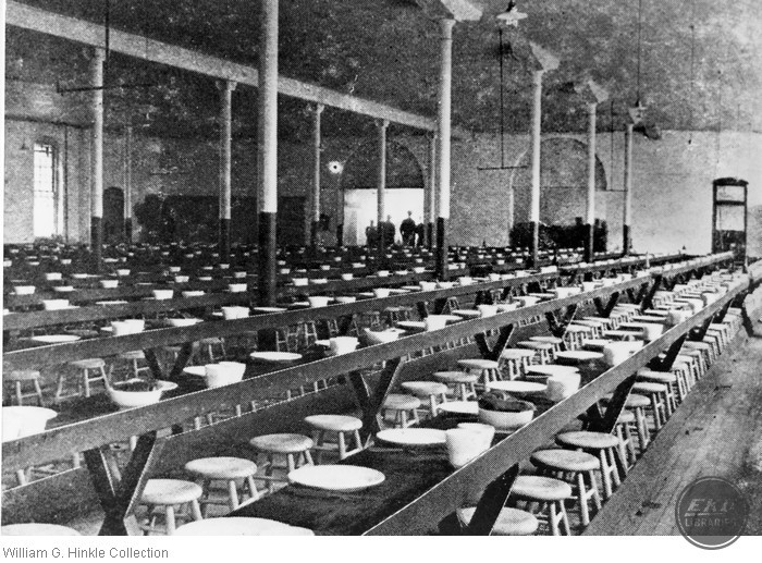 Indiana State Prison Dining Hall