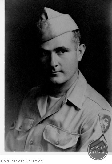 Dorrell James Holcomb in Army Air Forces uniform
