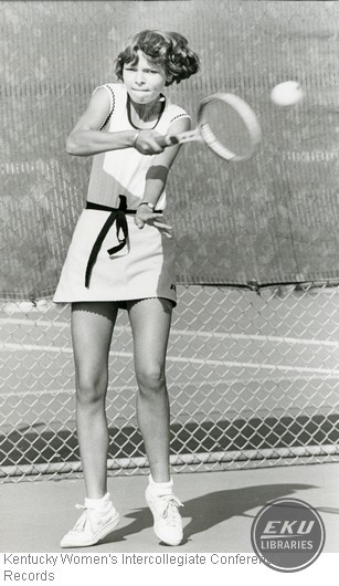 Tennis - Unidentified Western Kentucky University Player