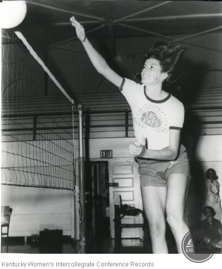 Unidentified University of Kentucky Volleyball Player