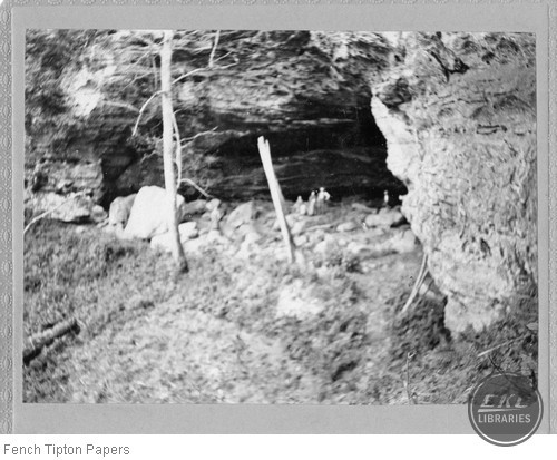 Unidentified Cave with People