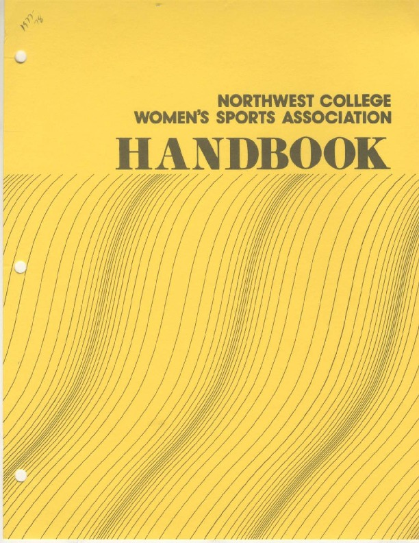 AIAW Publications Series, Northwest College Women's Sports Association Handbook