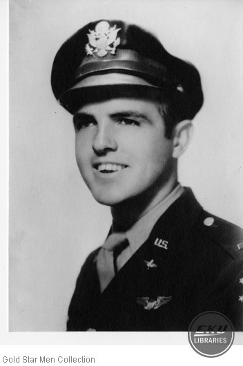 Donald R. Cawood in Army Air Forces uniform