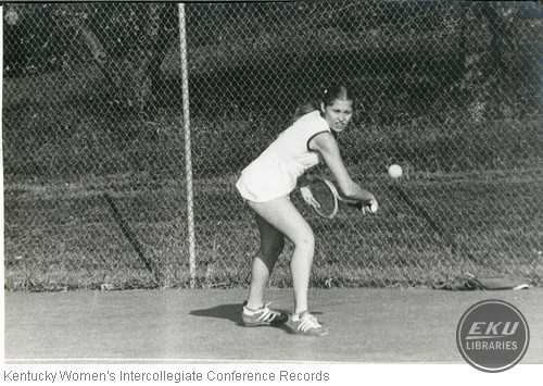 Tennis- Unidentified Berea College Player