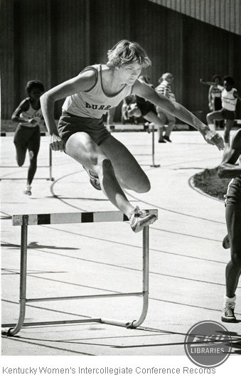 Unidentified Hurdler