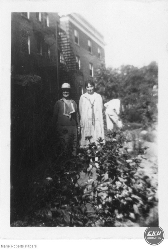 Marie L. Roberts and Eunice Wingo