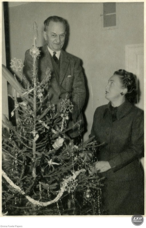 Percy and Mae, Christmas Card