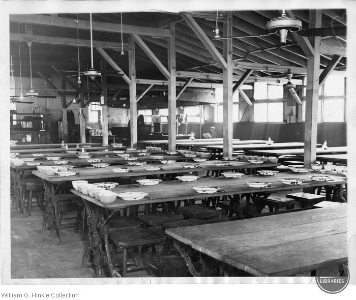 Dining Hall at Occaquan Workhouse