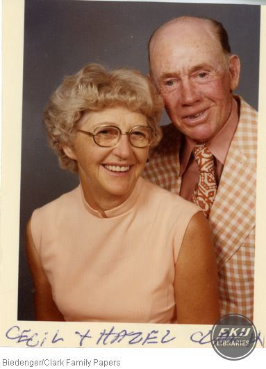 Cecil and Hazel Clark