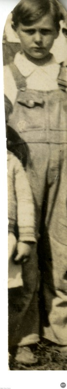 Unidentified Boy in Overalls