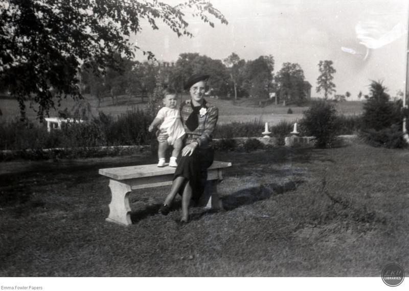 Unidentified Woman and Baby
