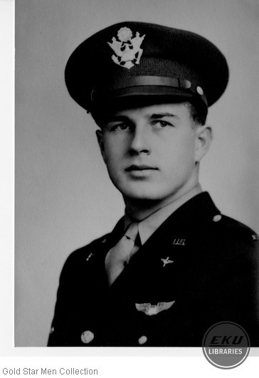 George M. Lewis in Army Air Forces uniform