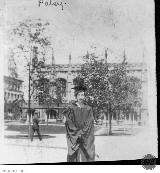 Patsey in Cap and Gown