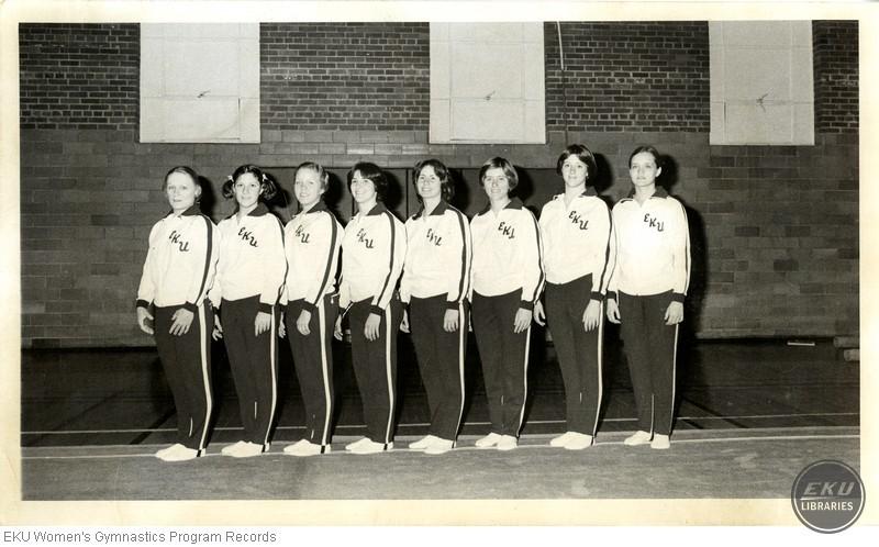 EKU Gymnastics Team Picture