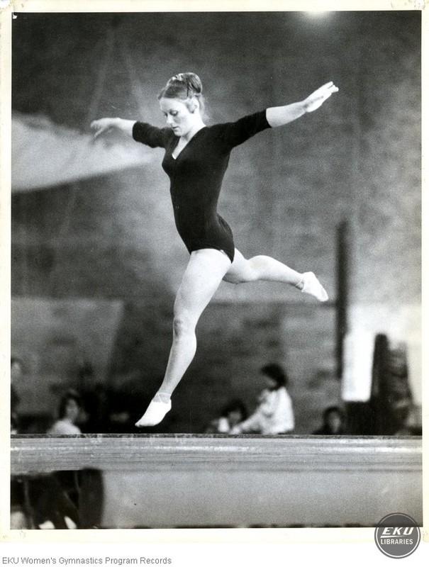 Beth Miles on Beam