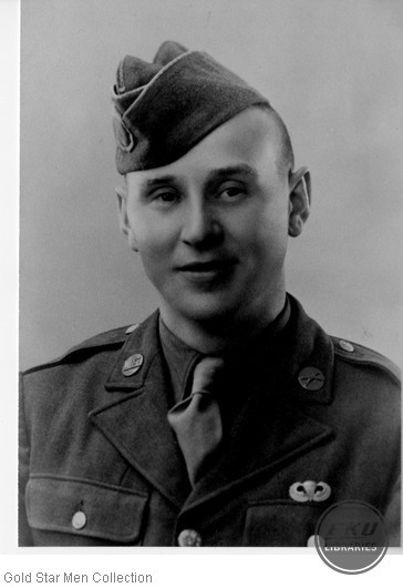 Clarence M. Wright in Army uniform