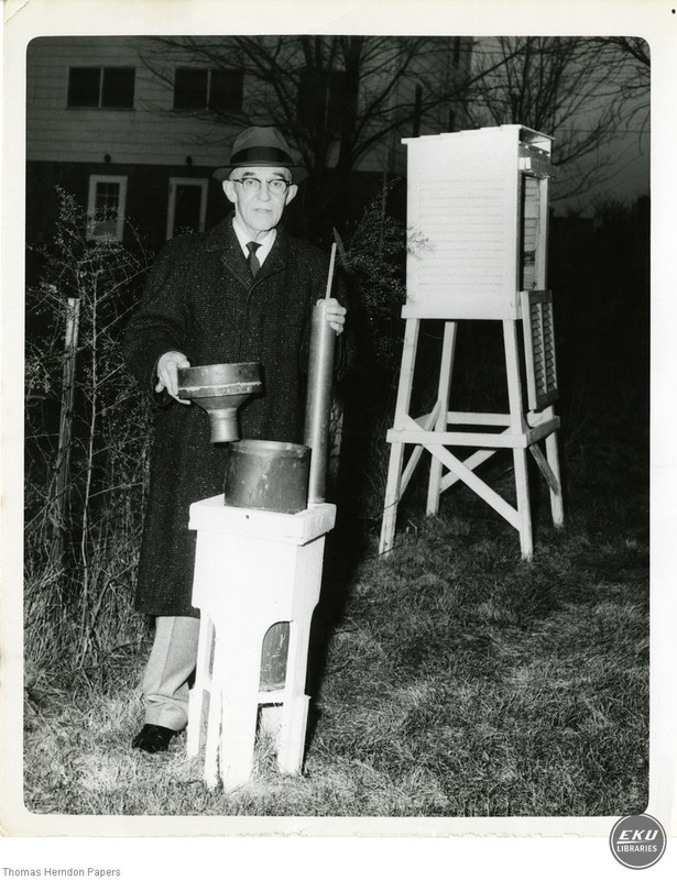 Dr. Thomas Herndon with Weather Equipment