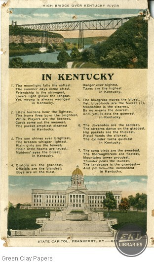"""In Kentucky"" with scenes"