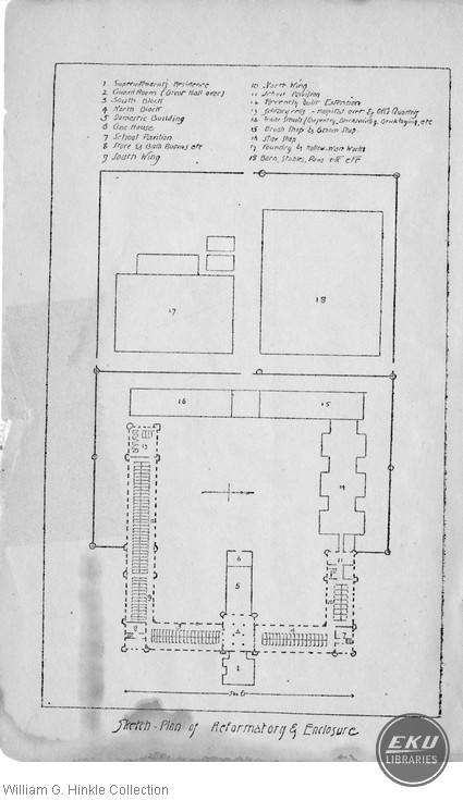 Plan of the Reformatory and Enclosure