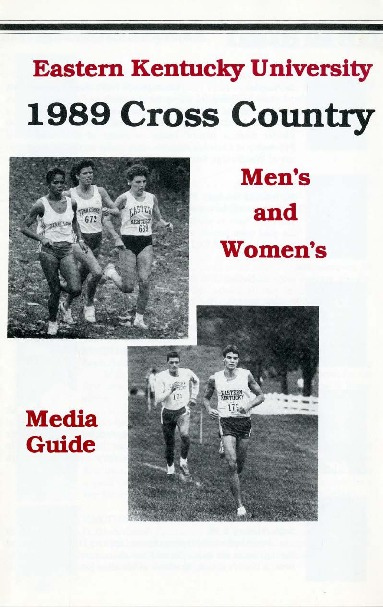 Sports Media Guide-Cross Country